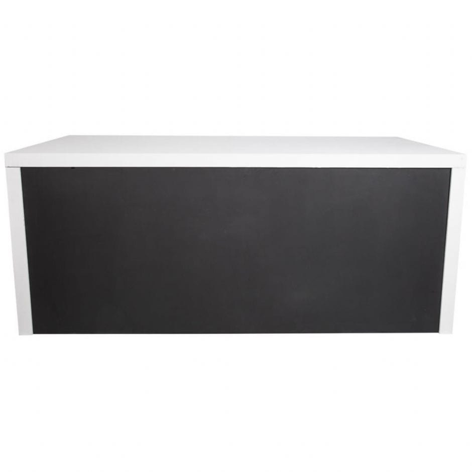 Service table with black board 2 4 x 1 1 m for 1 x 2 table